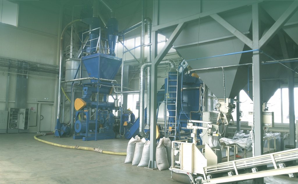 Technological solutions for the granulation of wood waste